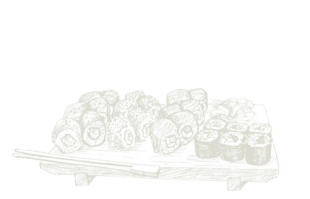 Sushi Board Marketing Foods
